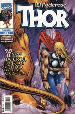 El Poderoso Thor (1999-2002) (Grapa. 17x26. 24 páginas. Color. Vol. 3-4.) #24