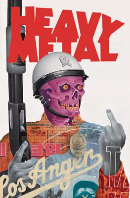 Heavy Metal Magazine (Magazine) #296
