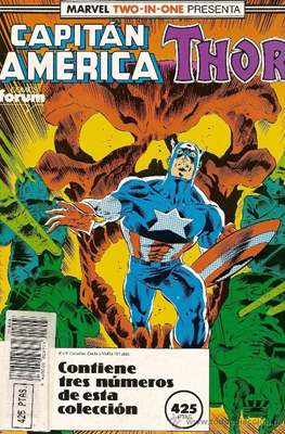 Capitán América Vol. 1 (1985-1992) (Retapado Rústica) #11