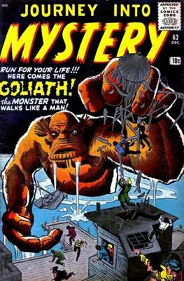 Journey into Mystery / Thor Vol 1 (Comic Book) #63