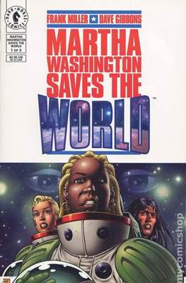 Martha Washington Saves the World (Grapa) #1