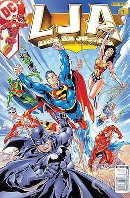 Liga da Justiça. 1ª série (Rústica 100 pp) #1