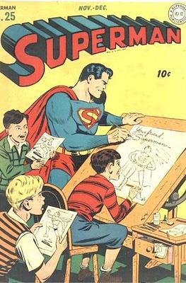 Superman Vol. 1 / Adventures of Superman Vol. 1 (1939-2011) (Comic Book) #25