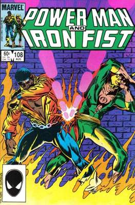 Hero for Hire / Power Man Vol 1 / Power Man and Iron Fist Vol 1 (Comic Book) #108