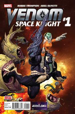 Venom: Space Knight (Comic Book) #1