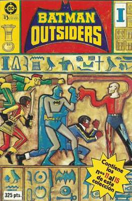 Batman y los Outsiders (1986) (Retapado Rústica) #3