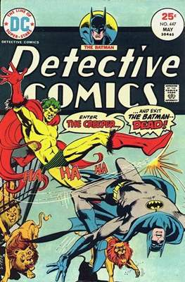 Detective Comics Vol. 1 (1937-2011; 2016-) (Comic Book) #447