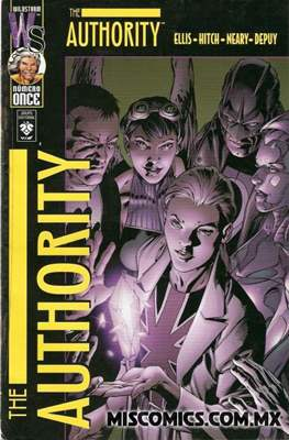 Planetary/The Authority (Grapa Flipbook) #11