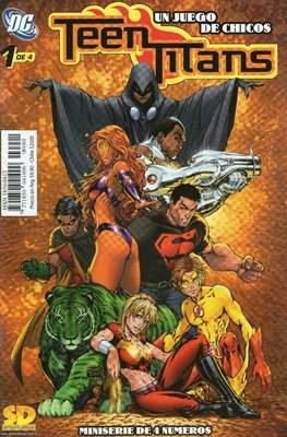 Teen Titans Un Juego de Chicos (grapa) #1