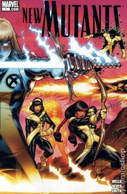 New Mutants Vol.3 (2009-2012 Variant Cover) #1.1