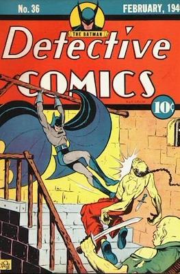 Detective Comics Vol. 1 (1937-2011; 2016-) #36