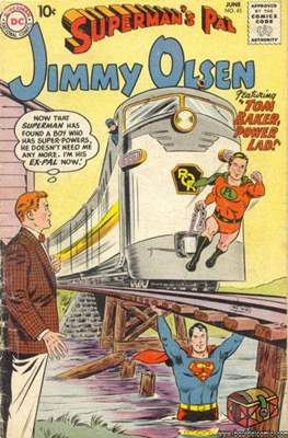 Superman's Pal, Jimmy Olsen / The Superman Family (Comic Book) #45