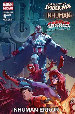 Inhuman Error - The Amazing Spider-Man / Inhuman / All-New Captain America
