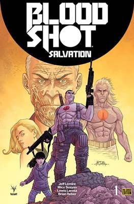 Bloodshot Salvation (Variant Covers) (Grapa) #1.1