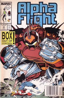 Alpha Flight Vol. 1 (1983-1994) (Comic Book) #65