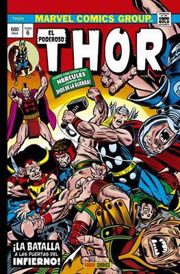 El Poderoso Thor. Marvel Gold (Omnigold) (Cartoné 696-480-520-592 pp) #6