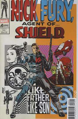 Nick Fury (Variant Cover) (Comic Book 28 pp) #6