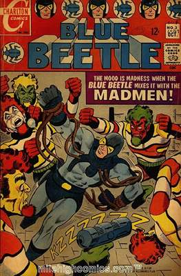 Blue Beetle Vol. 1 #3