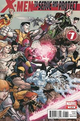 X-Men: To Serve and Protect (Comic-Book) #1