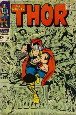 Journey into Mystery / Thor Vol 1 (Comic Book) #154