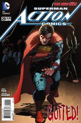 Action Comics Vol. 2 (2011-2016) (Grapa) #29