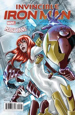 Invincible Iron Man (Vol. 3 2017-2018 Variant Cover) #8