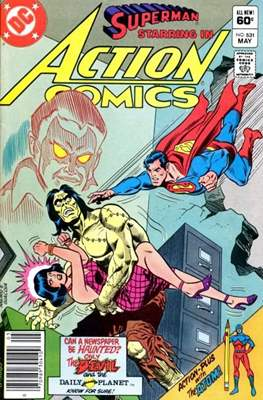 Action Comics Vol. 1 (1938-2011; 2016-) (Comic Book) #531