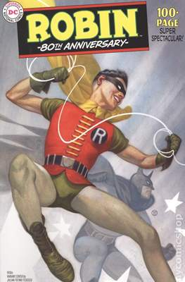 Robin 80th Anniversary (Variant Cover) (Softcover 100 pp) #1.2