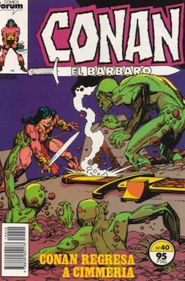 Conan el Bárbaro (1983-1994) (Grapa 24-36 pp) #40