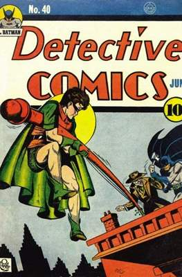 Detective Comics Vol. 1 (1937-2011; 2016-) (Comic Book) #40