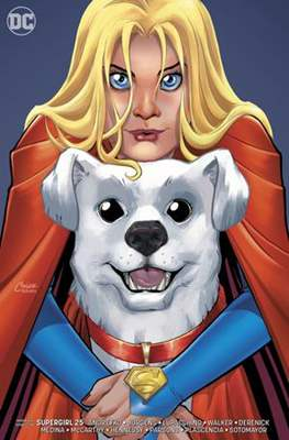 Supergirl Vol. 7 (2016-... Variant Covers) (Comic-book) #25