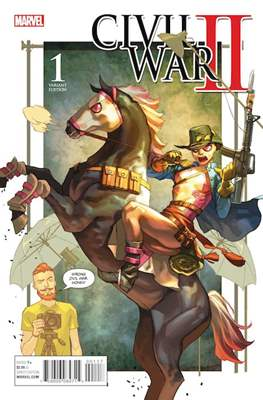 Civil War II (Portadas alternativas) #1.2