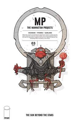 The Manhattan Projects: The Sun Beyond the Stars (Comic-book) #3