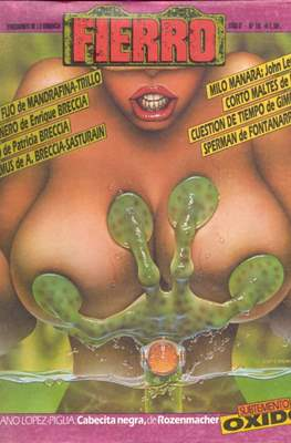 Fierro (Grapa (1984-1992) Primera época) #16