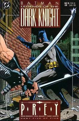 Batman: Legends of the Dark Knight Vol. 1 (1989-2007) (Comic Book) #15