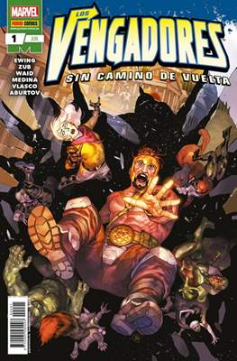 Los Vengadores: Sin camino de vuelta (Grapa 40-48 pp) #1