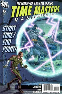Time Masters: Vanishing Point (2010-2011) (Comic Book) #6