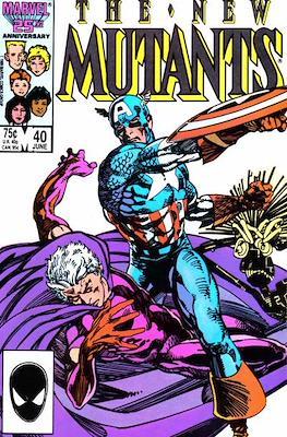 The New Mutants (Grapa) #40