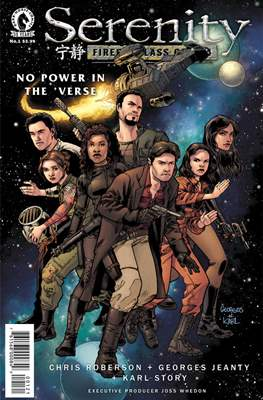 Serenity: No Power in the 'Verse [alternate covers]