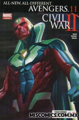 All-New All-Different Avengers (2016-2017) #11