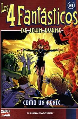 Coleccionable Los 4 Fantásticos de John Byrne (2002) (Rústica, 80 páginas (2002)) #21