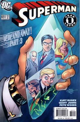 Superman Vol. 1 / Adventures of Superman Vol. 1 (1939-2011) (Comic Book) #651