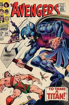 The Avengers Vol. 1 (1963-1996) (Comic Book) #50