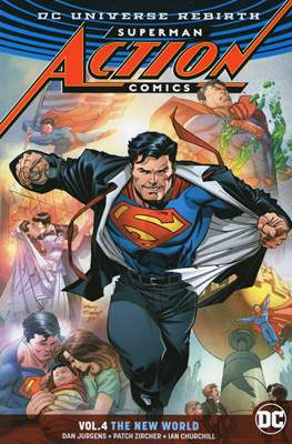 Superman: Action Comics Vol. 1 (2016) (Softcover) #4