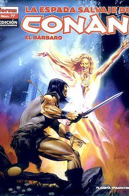 La Espada Salvaje de Conan el Bárbaro. Edición coleccionistas (Rústica 64 pp) #77