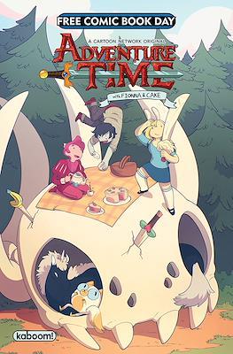 Adventure Time Fionna & Cake - Free Comic Book Day 2018