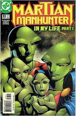 Martian Manhunter Vol. 2 (Grapa 24 pág.) #33