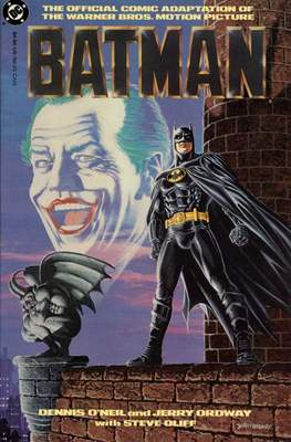 Batman. The Official Comic Adaptation of the Warner Bros. Motion Picture