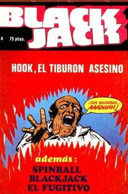 Black Jack / Spinball (Grapa 48 pp) #4