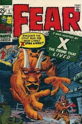 Adventure into Fear #2
